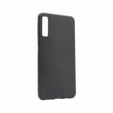 Futrola Leather Look za Samsung A750FN Galaxy A7 2018 crna