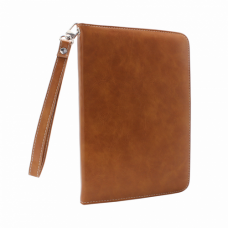 Futrola Leather za iPad 2/3/4 svetlo braon