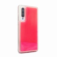 Futrola Liquid color za Huawei P30 narandzasto-pink