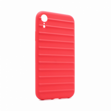 Futrola Ribbed za iPhone XR crvena