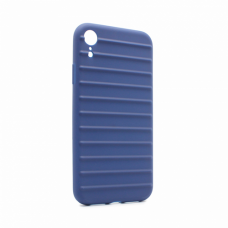 Futrola Ribbed za iPhone XR plava