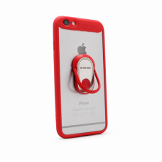 Futrola Shengo Finger Ring za iPhone 6/6S crvena
