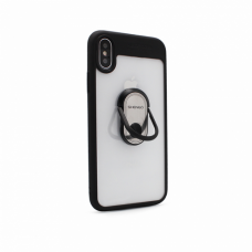 Futrola Shengo Finger Ring za iPhone X crna