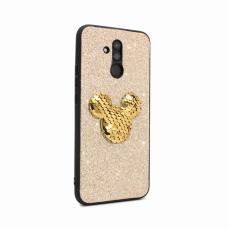 Futrola Shiny mouse za Huawei Mate 20 Lite zlatna