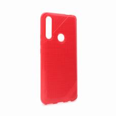 Futrola Silikon rough za Huawei Y9 Prime 2019 crvena