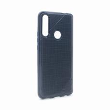 Futrola Silikon rough za Huawei Y9 Prime 2019 plava