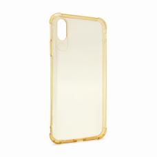 Futrola silikonska Ultra Thin za iPhone XS Max zlatna