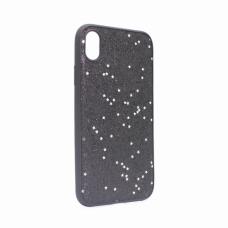 Futrola Sparkle Shiny za iPhone XR crna
