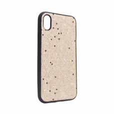 Futrola Sparkle Shiny za iPhone XR zlatna