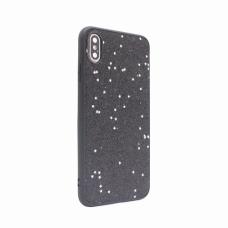 Futrola Sparkle Shiny za iPhone XS Max crna