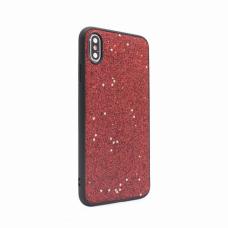 Futrola Sparkle Shiny za iPhone XS Max crvena