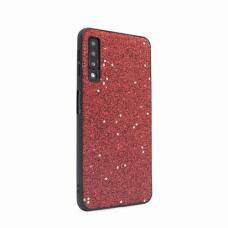 Futrola Sparkle Shiny za Samsung A750F Galaxy A7 2018 crvena