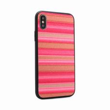 Futrola Three stripes za iPhone X pink
