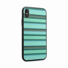 Futrola Three stripes za iPhone X zelena