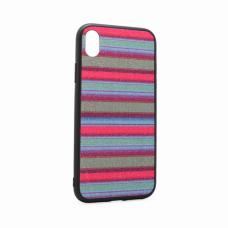 Futrola Three stripes za iPhone XR plava