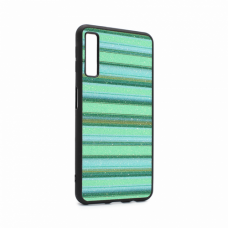 Futrola Three stripes za Samsung A750FN Galaxy A7 2018 zelena