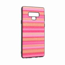 Futrola Three stripes za Samsung N960F Note 9 pink