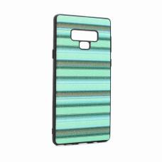 Futrola Three stripes za Samsung N960F Note 9 zelena