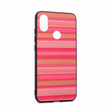 Futrola Three stripes za Xiaomi Mi A2/Redmi 6X pink