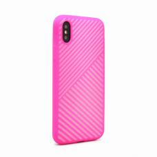 Futrola Twill za iPhone X pink