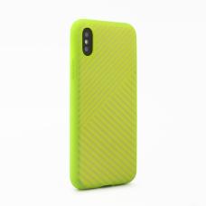 Futrola Twill za iPhone X svetlo zelena
