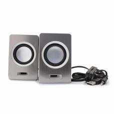 Zvucnici FT-2049 USB srebrni