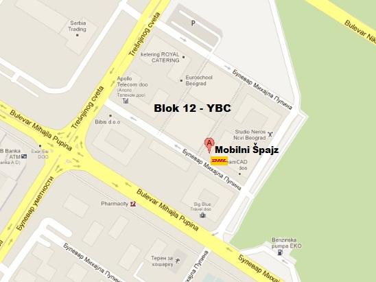 yu biznis centar beograd mapa Način plaćanja/isporuke yu biznis centar beograd mapa